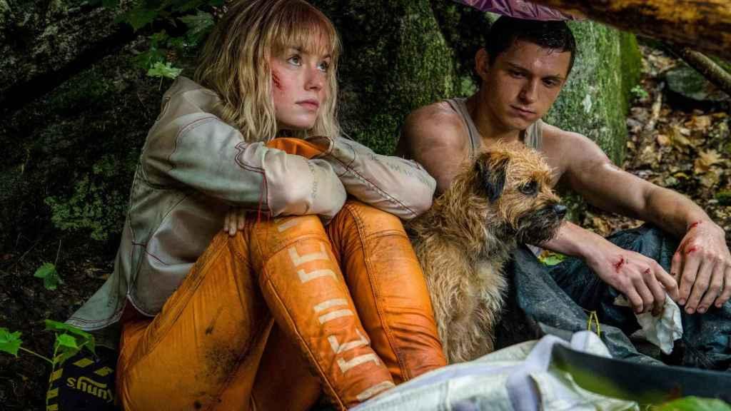 Daisy Ridley y Tom Holland en 'Chaos Walking'