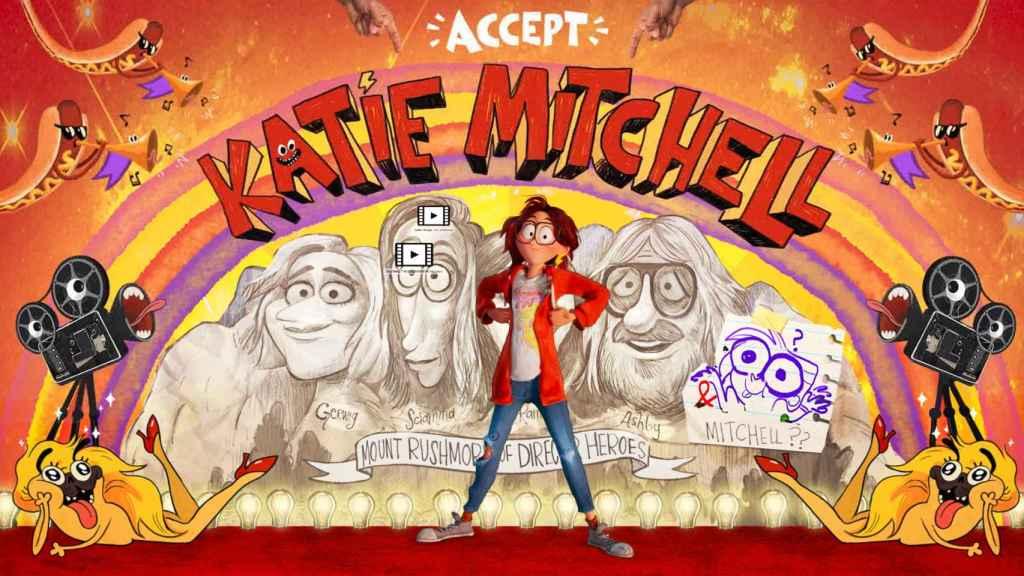 Katie es la joven protagonista que debe hacer las paces con su padre.