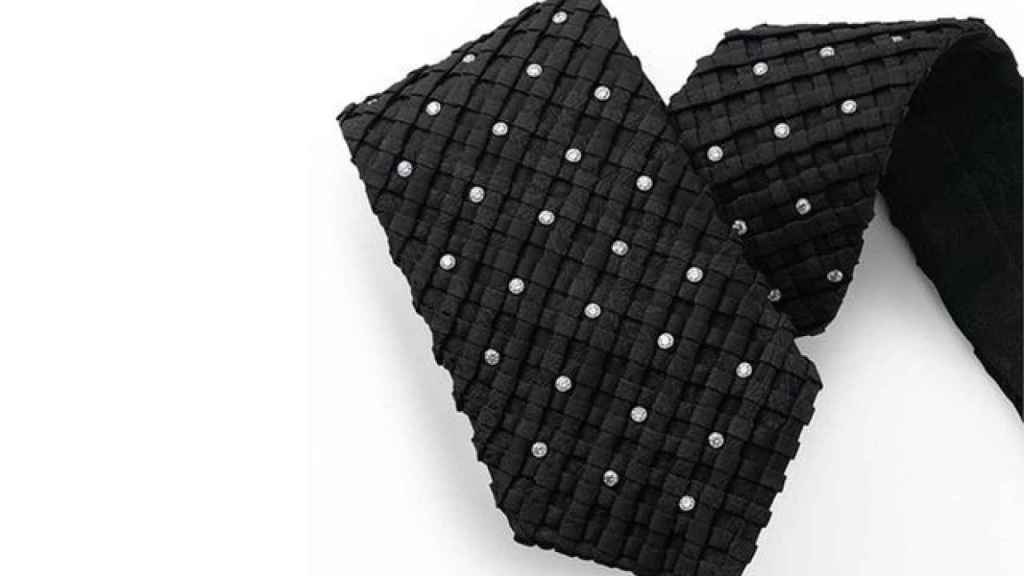 The second most expensive tie in the world is by Stefano Ricci and is created with Swarovski crystals.