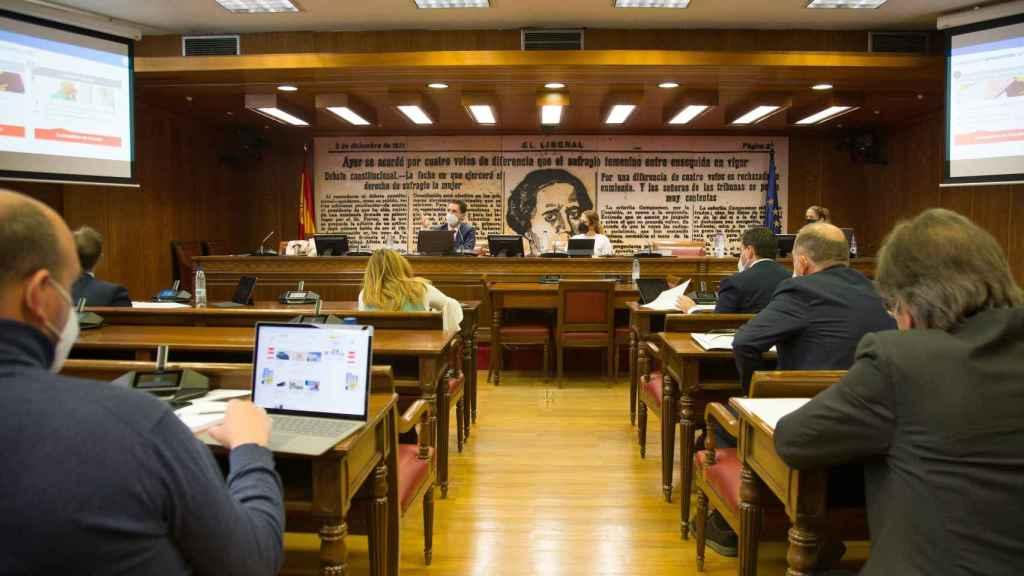 Eduardo Azanza, CEO de Veridas, en su comparecencia en el Senado