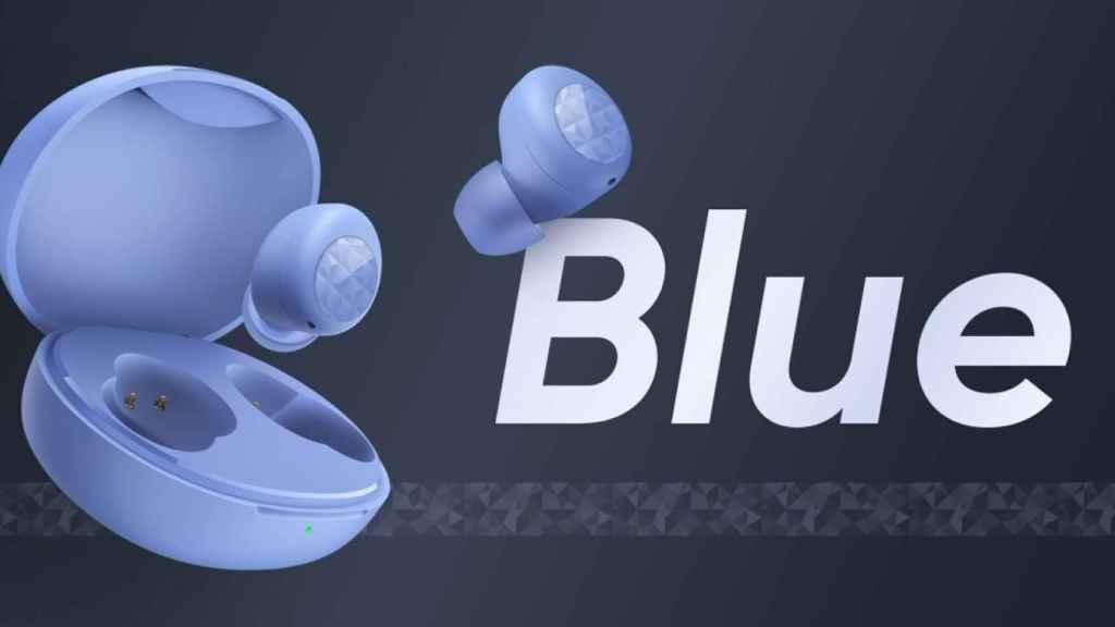 realme Buds Q2 azul
