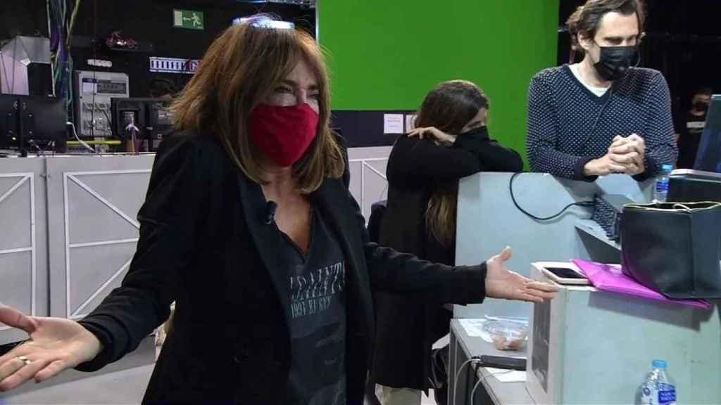 María Patiño sufre un ataque de ansiedad al desvelarse que le ha dado like a un tuit contra Belén Esteban