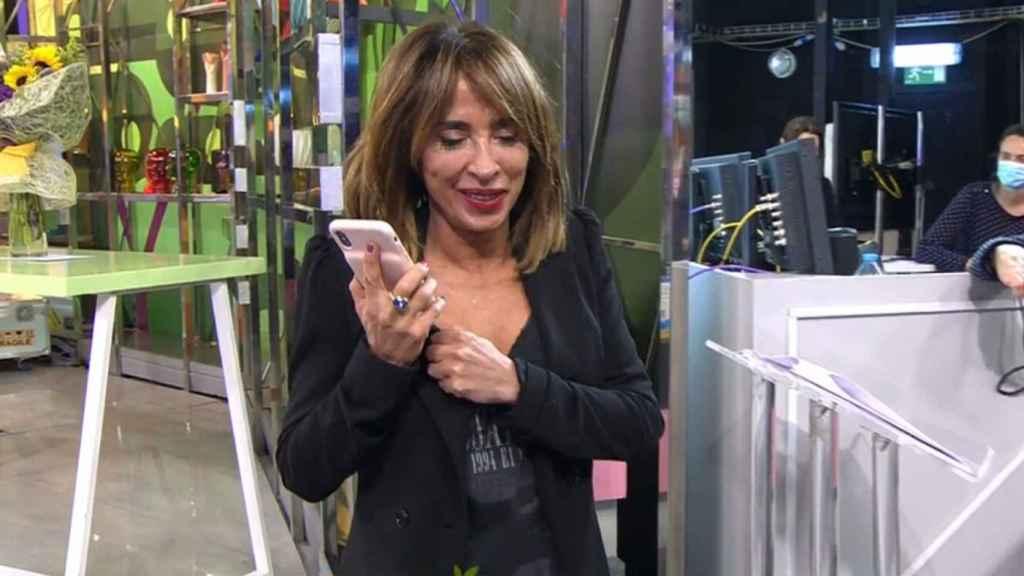 María Patiño hablando con Belén Esteban