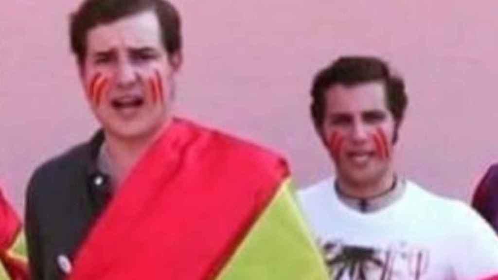 Ribas y Juan José Menéndez, ambos fundadores de la iniciativa 'Cañas por España'.