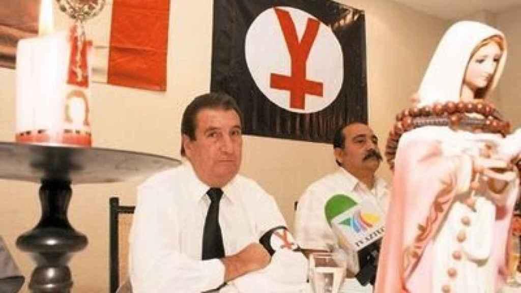 Miembros de El Yunque en México.