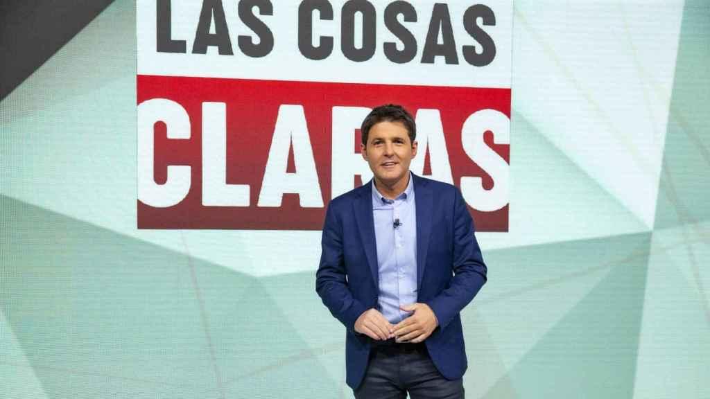 Jesús Cintora, presentador de 'Las cosas claras' en La 1.