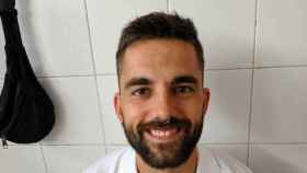 Santxo Lamberto, jugador del CD Gares de Puente la Reina