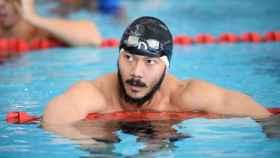 Win Htet Oo, nadador de Birmania