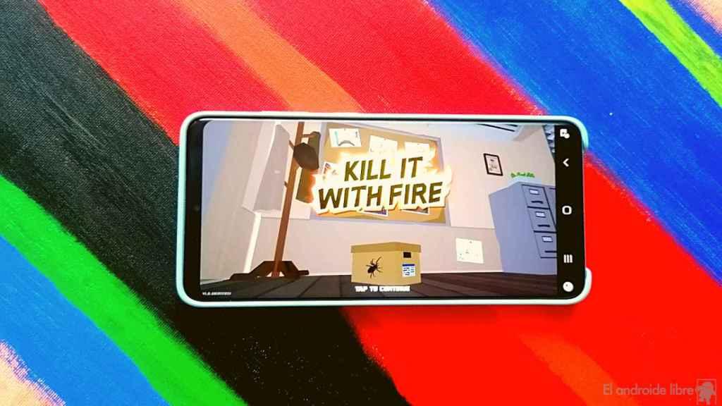 Kill It With Fire: acaba con las arañas que invaden tu casa