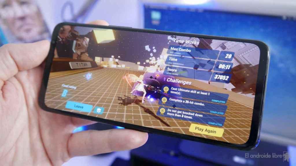 Asus ROG Phone 5 con Honkai Impact Third
