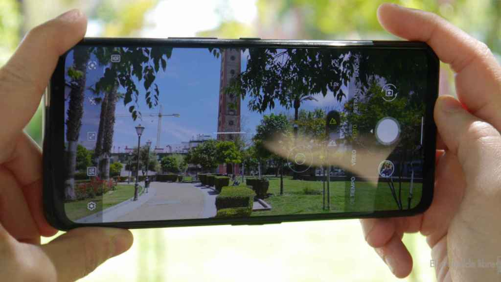 Cámara del Asus ROG Phone 5