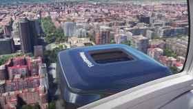 La simulación hiperrealista del Santiago Bernabéu