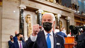 El presidente de los EEUU, Joe Biden.