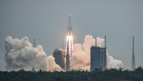 Lanzamiento primer módulo de la Estación Espacial China