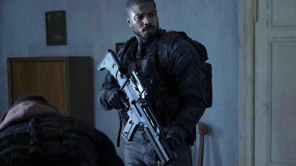 Michael B. Jordan vive 'Sin remordimientos' en la nueva adaptación de Tom Clancy.