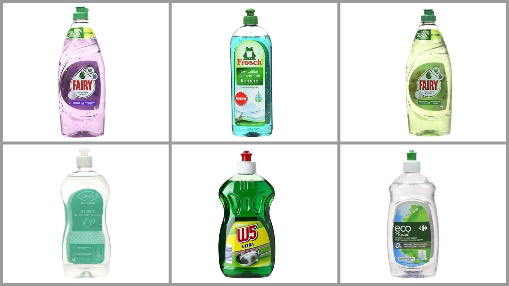 La nueva lista de los 12 mejores detergentes lavavajillas a mano: los hay por 0,70 €