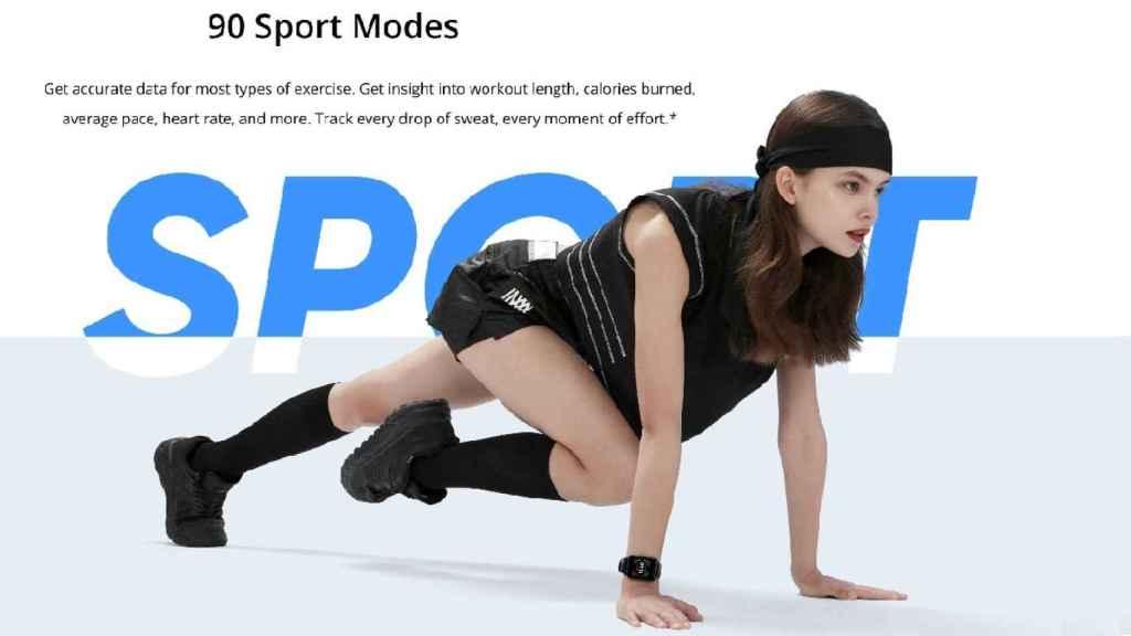 realme Watch 2 sports modes