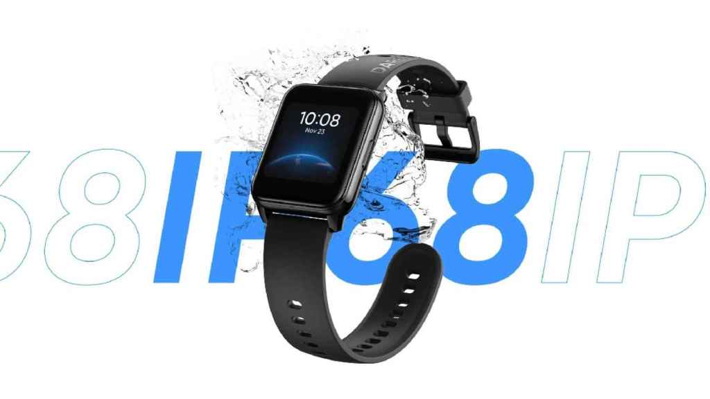 Realme Watch 2 water resistance