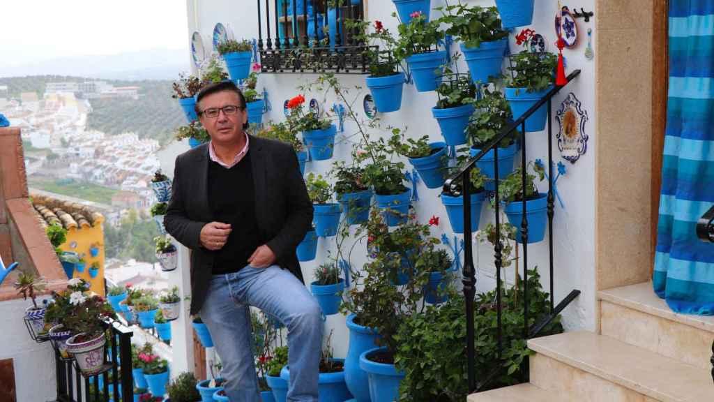 Lope Ruiz, alcalde de Iznájar.