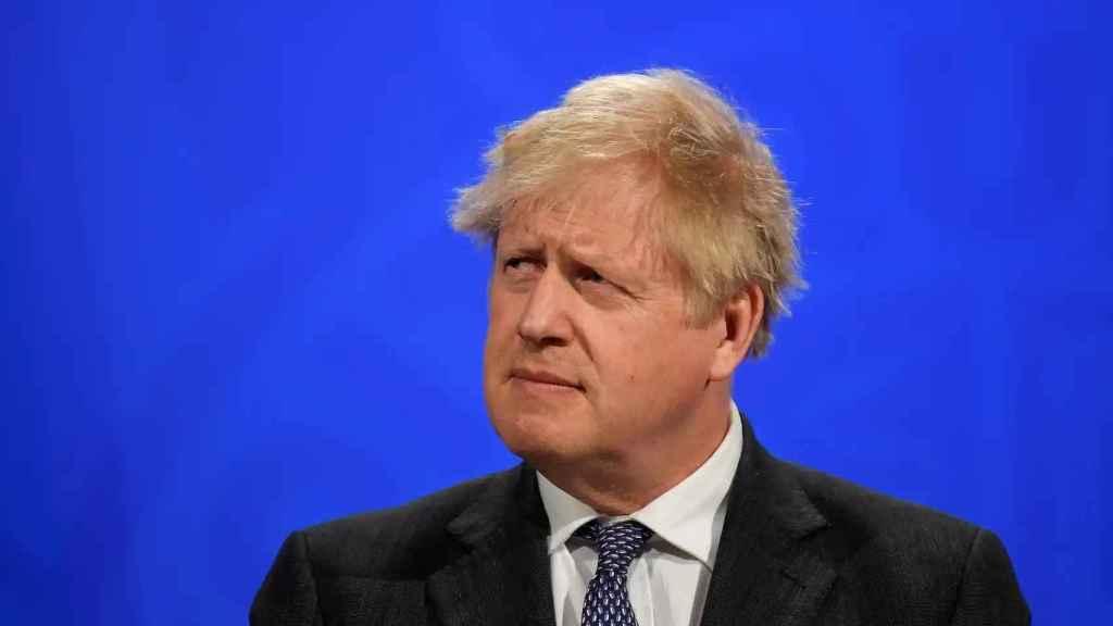 El primer ministro de Reino Unido, Boris Johnson.
