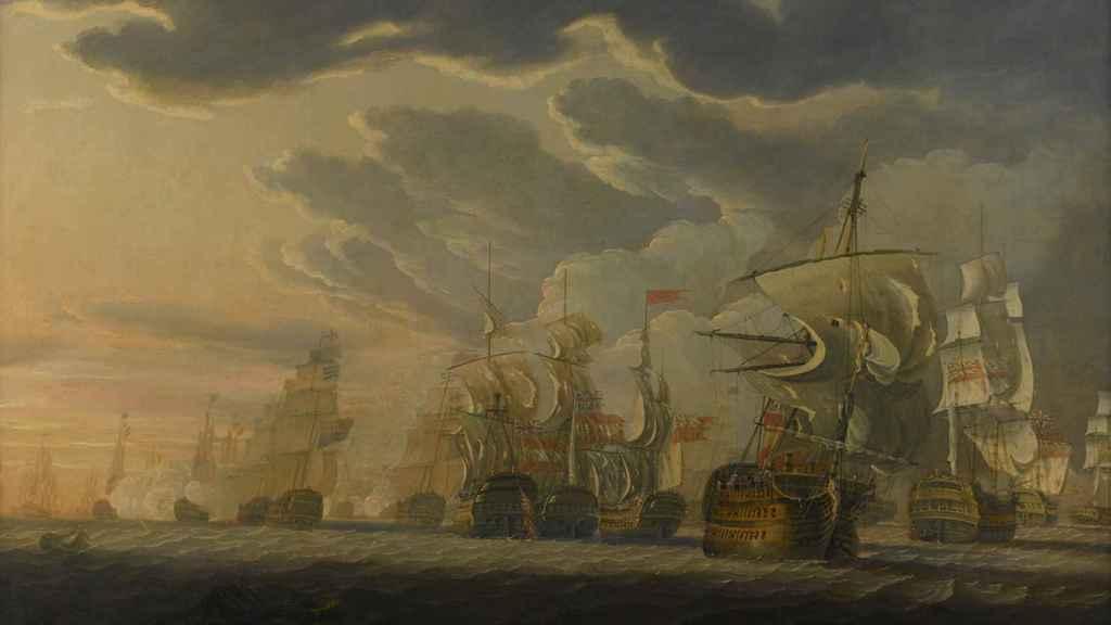 Batalla del Cabo de San Vicente (1797).