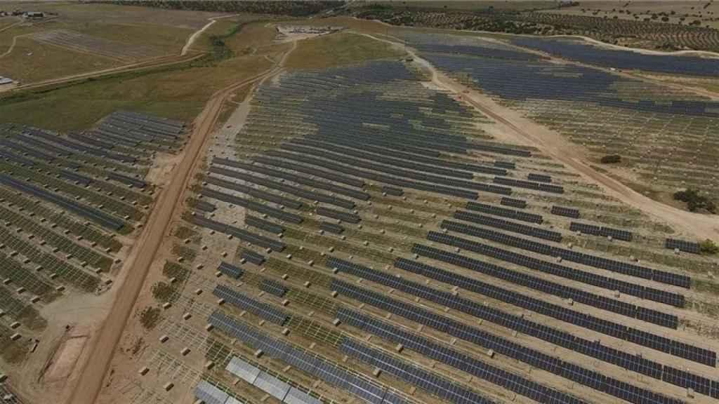 Planta fotovoltaica 'Núñez de Balboa'.