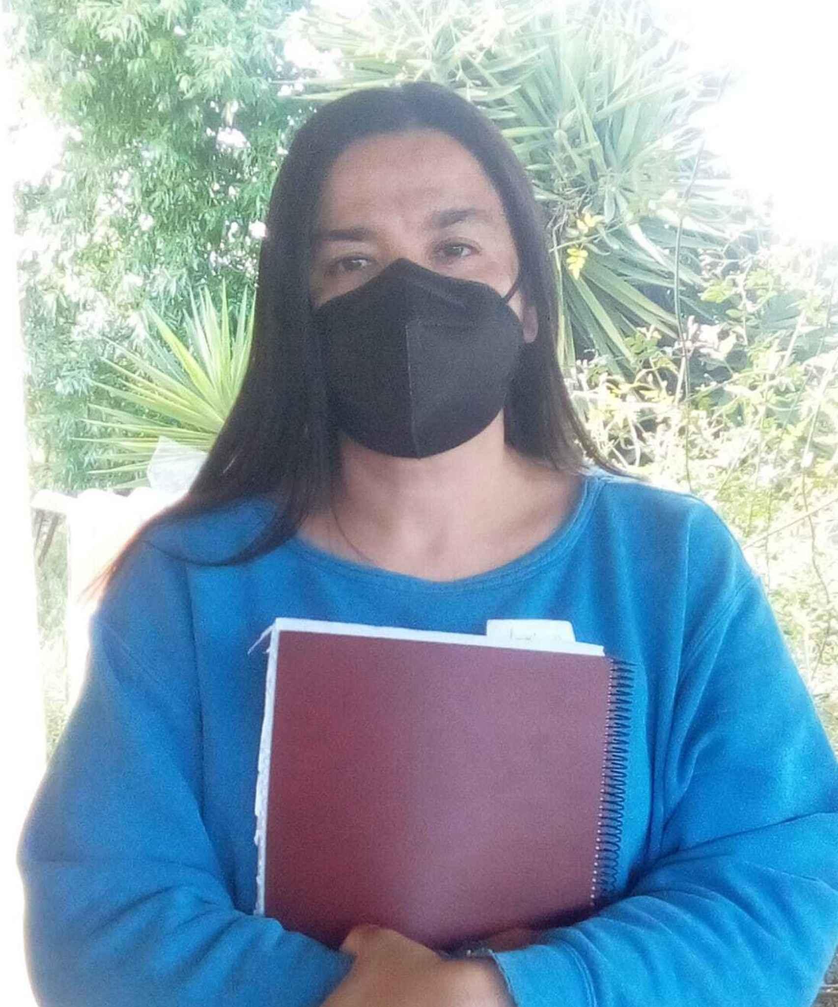 Silvia Cardá debe pagar 350.000 por la herencia de su marido.