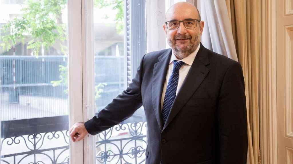 Miguel Borra, en su despacho. (Esteban Palazuelos)