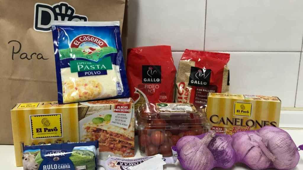 Otros productos comprados en Dija.