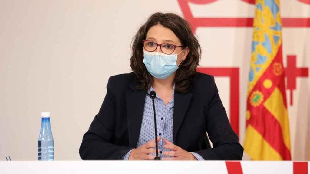Mónica Oltra, vicepresidenta del Gobierno valenciano. EE