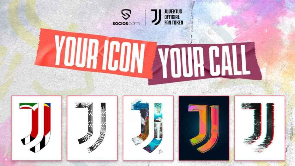 La Juventus permitió votar el diseño de un escudo para una equipación limitada