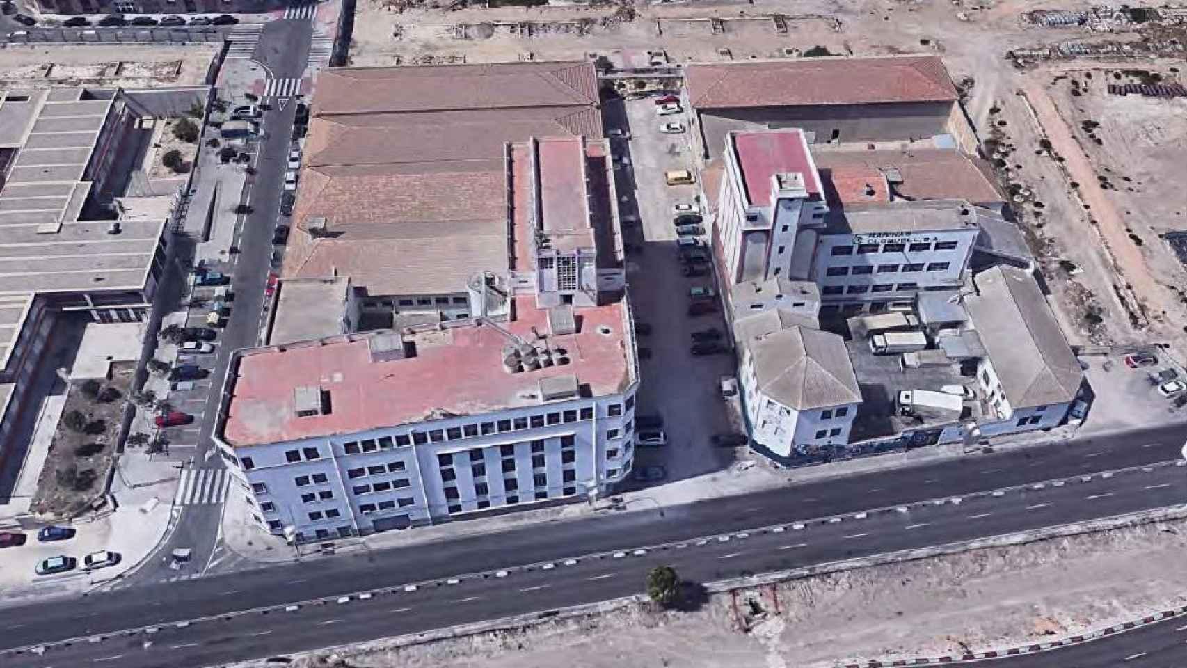 Imagen de los edificios.