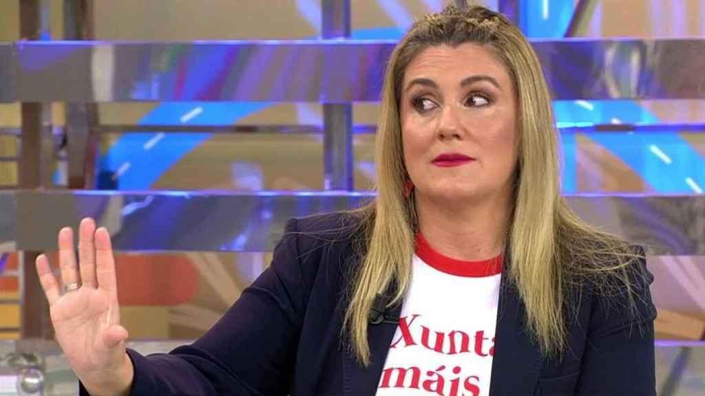 Carlota Corredera ha protagonizado un tenso encontronazo con Antonio Montero en 'Sálvame'.