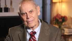 El físico e historiador Gerald Holton.