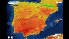 Variaciones de temperaturas en la primera semana de mayo. METEORED.