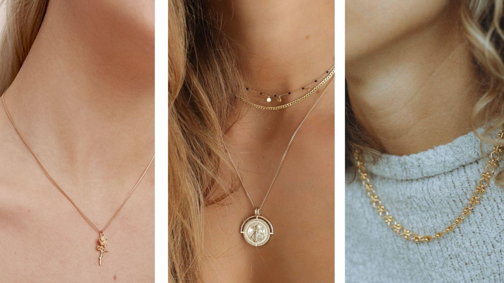 Clásicos y 'vintage': así lucen estos collares que no querrá quitarte.