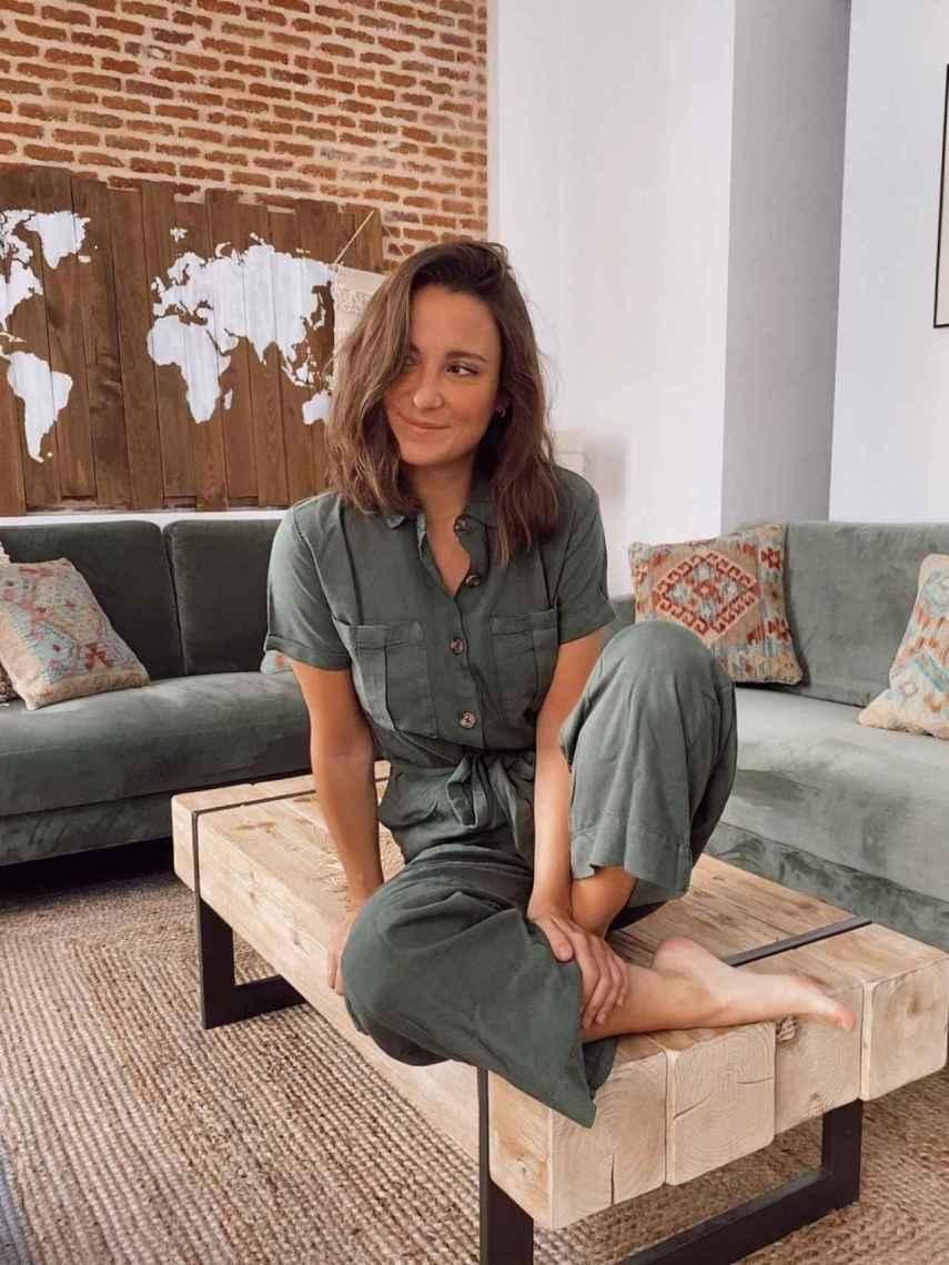 Marta Pombo, en una imagen compartida en su perfil de Instagram.