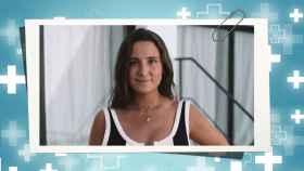 Marta Pombo, en un fotomontaje de JALEOS.