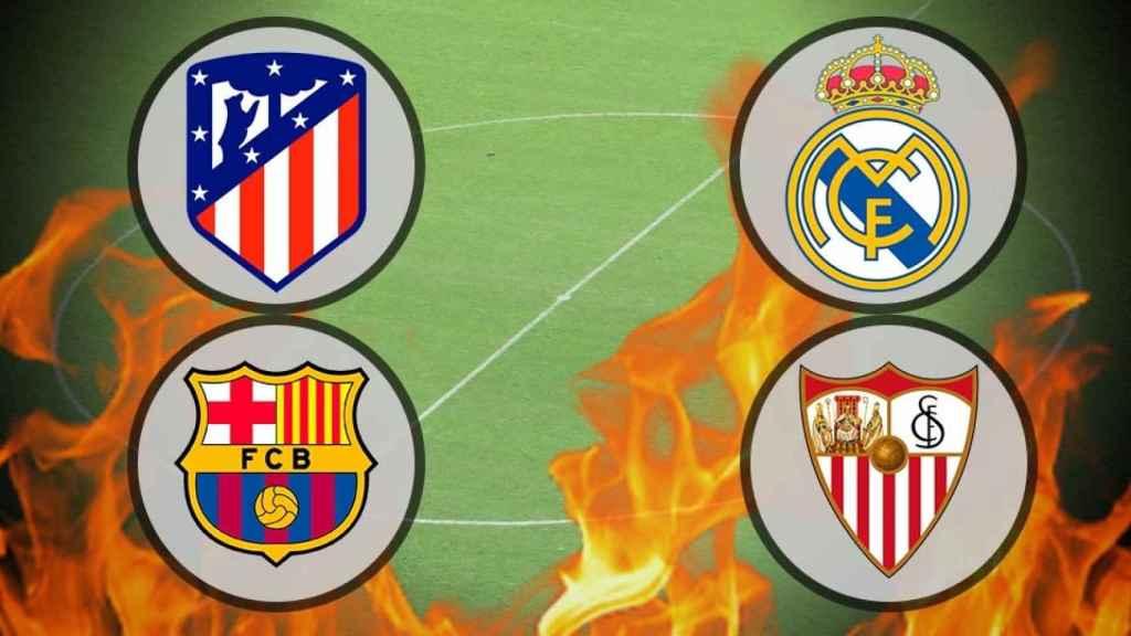 La batalla por La Liga