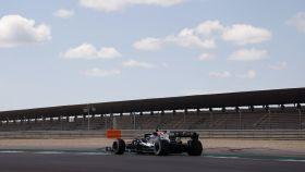 Valtteri Bottas rodando en el circuito de Portimao