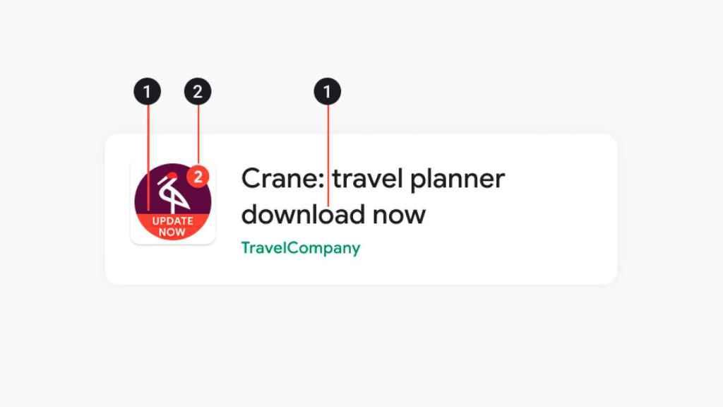 Las ofertas deberán explicar se en la descripción de la app