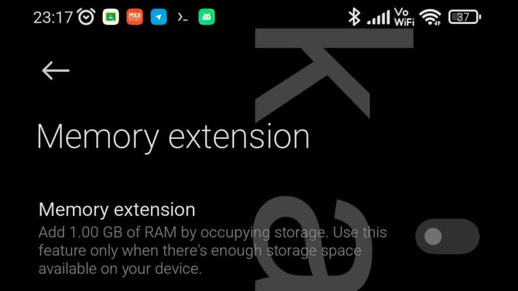Extension de memoria en Xiaomi