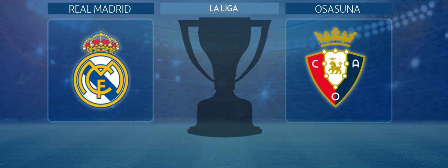 Real Madrid - Osasuna, partido de La Liga