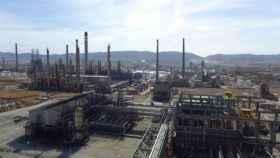 Factoría de Repsol en Puertollano (Ciudad Real). Imagen de archivo