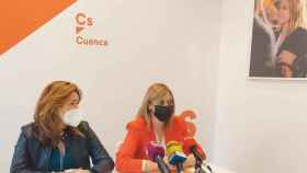 Cristina Elena Fuentes y Carmen Picazo
