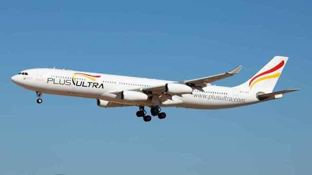 Uno de los aviones de Plus Ultra./