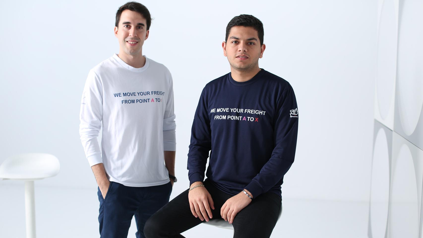 Maximiliano Casal y Alfonso de los Ríos, fundadores de NowPorts.