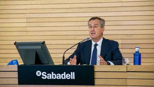 César González-Bueno, consejero delegado de Sabadell.