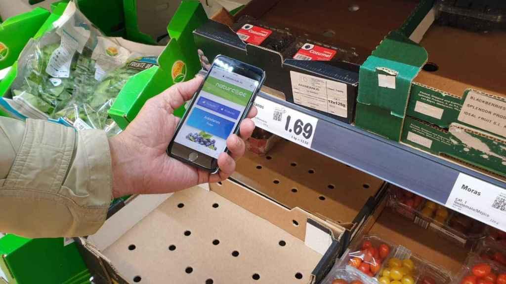 Naturcode, el etiquetado inteligente agroalimentario.