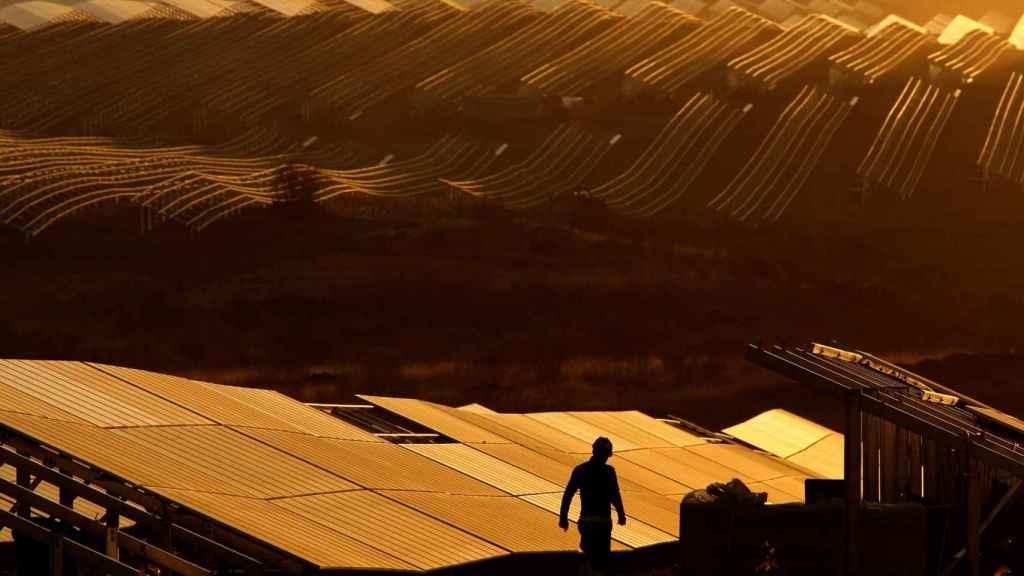 Planta fotovoltaica 'Núñez de Balboa' de Iberdrola.